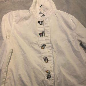 Disney Button Down Shirt